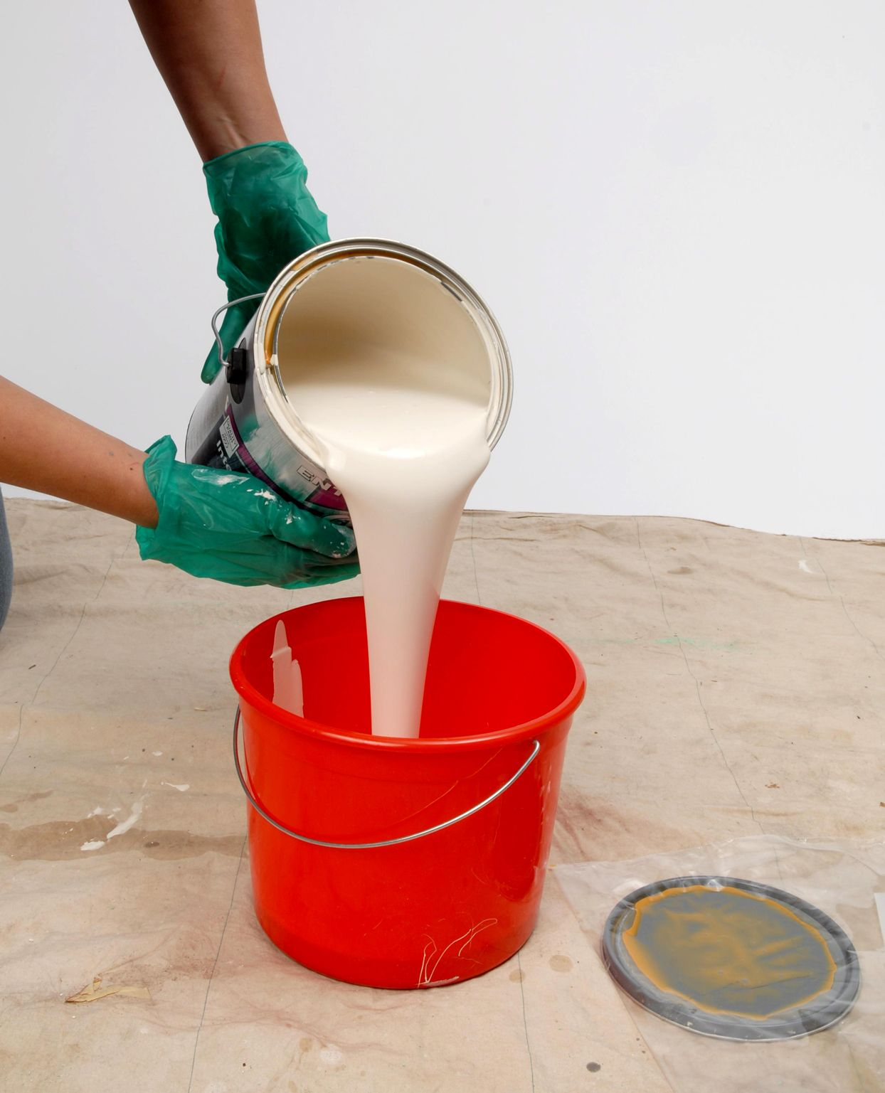 how to dispose of paint thinner cans