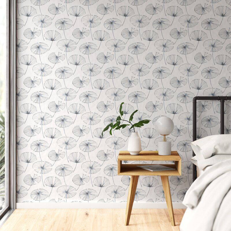 Axel 18 L X 20 5 W Peel And Stick Wallpaper Roll Reviews Allmodern Stick On Wallpaper Guest Room Wallpaper Wallpaper Roll