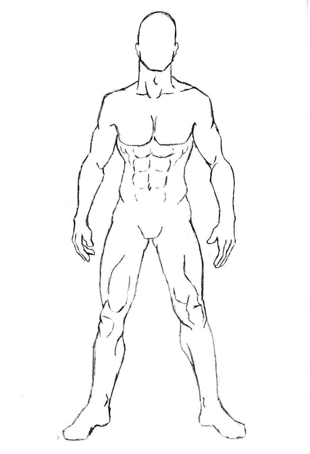 Pin By Redfoxx Panzer On Design Body Reference Drawing Outline Drawings Character Poses