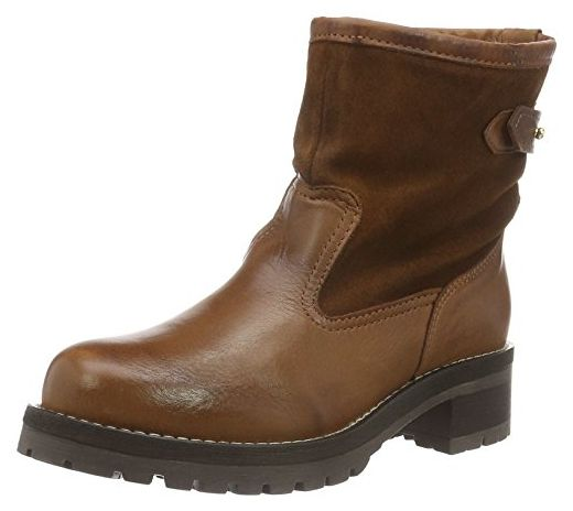Bianco Damen Warm Combi Boot 33 49060 Combat, Braun (Light