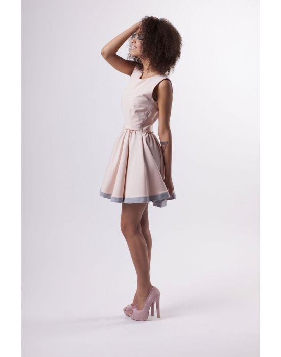Letnia Dresowa Sukienka Z Kola Dresses Fashion Mini Dress