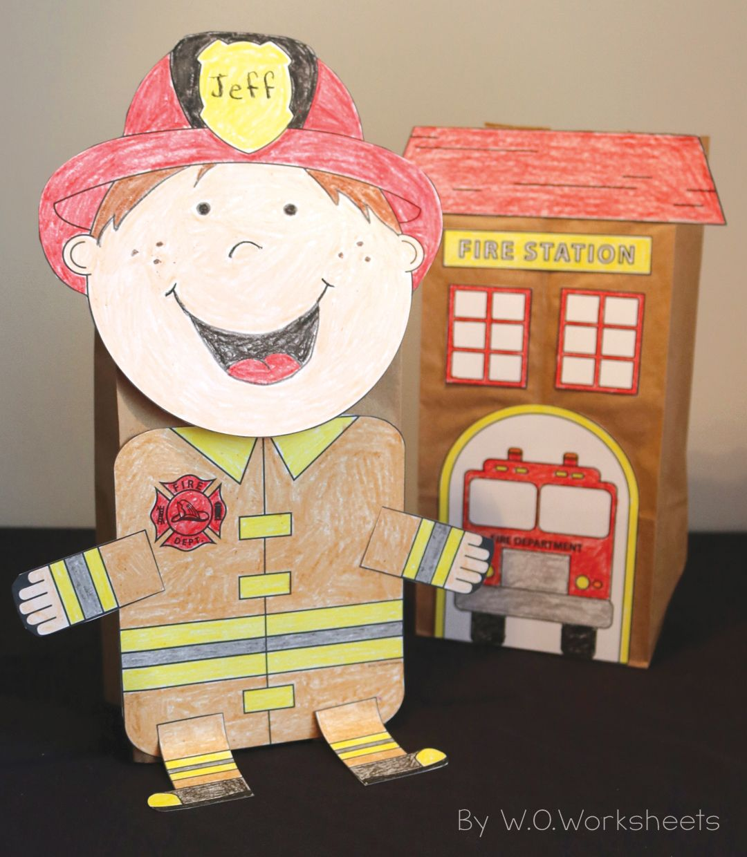 Firefighter Craft With Images