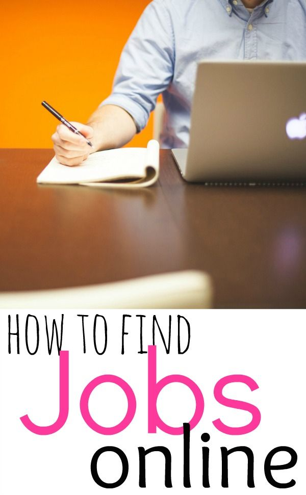 how to search for a job online
