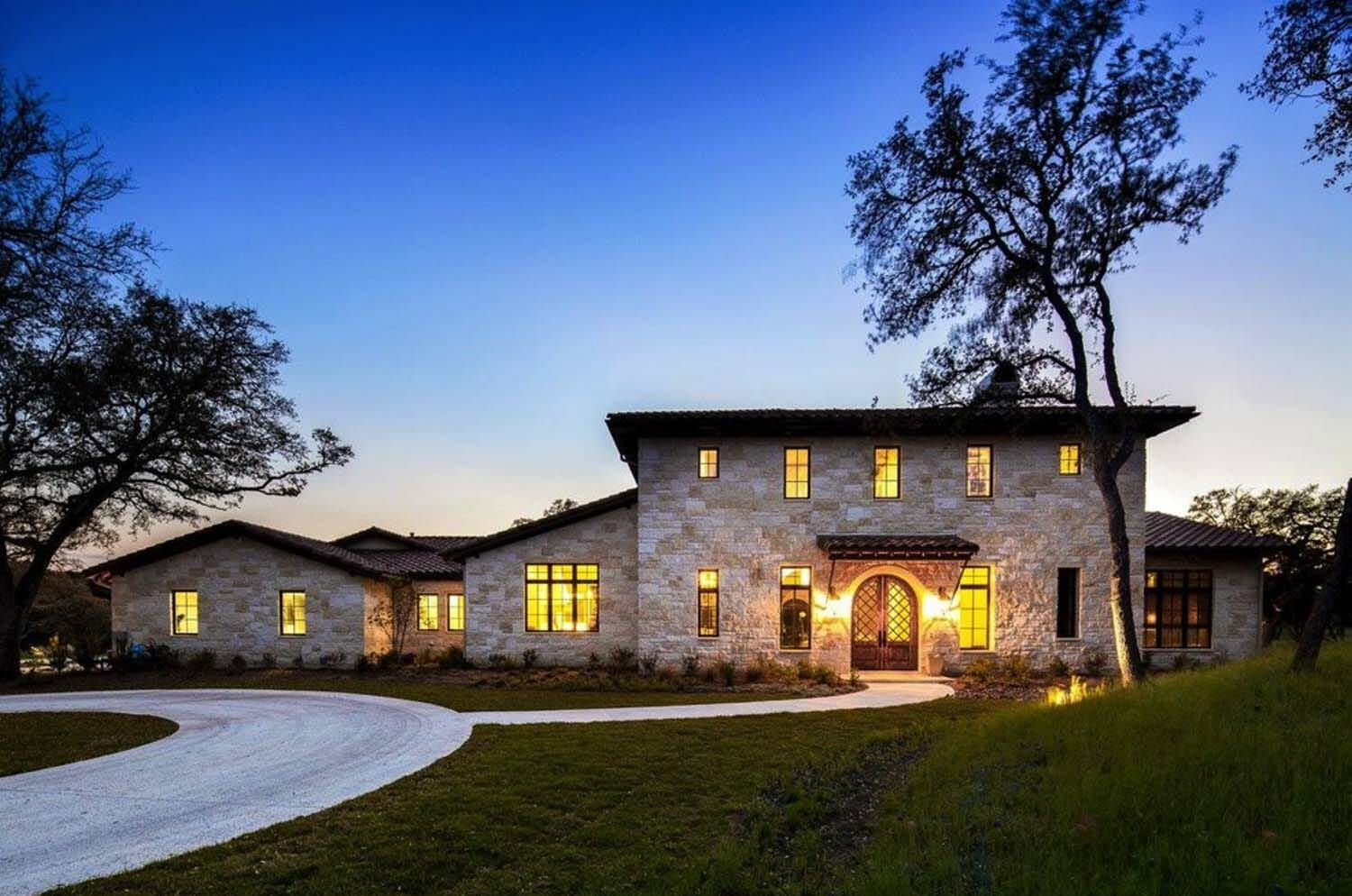Mediterranean Inspired Home Meets Texas Hill Country Modern
