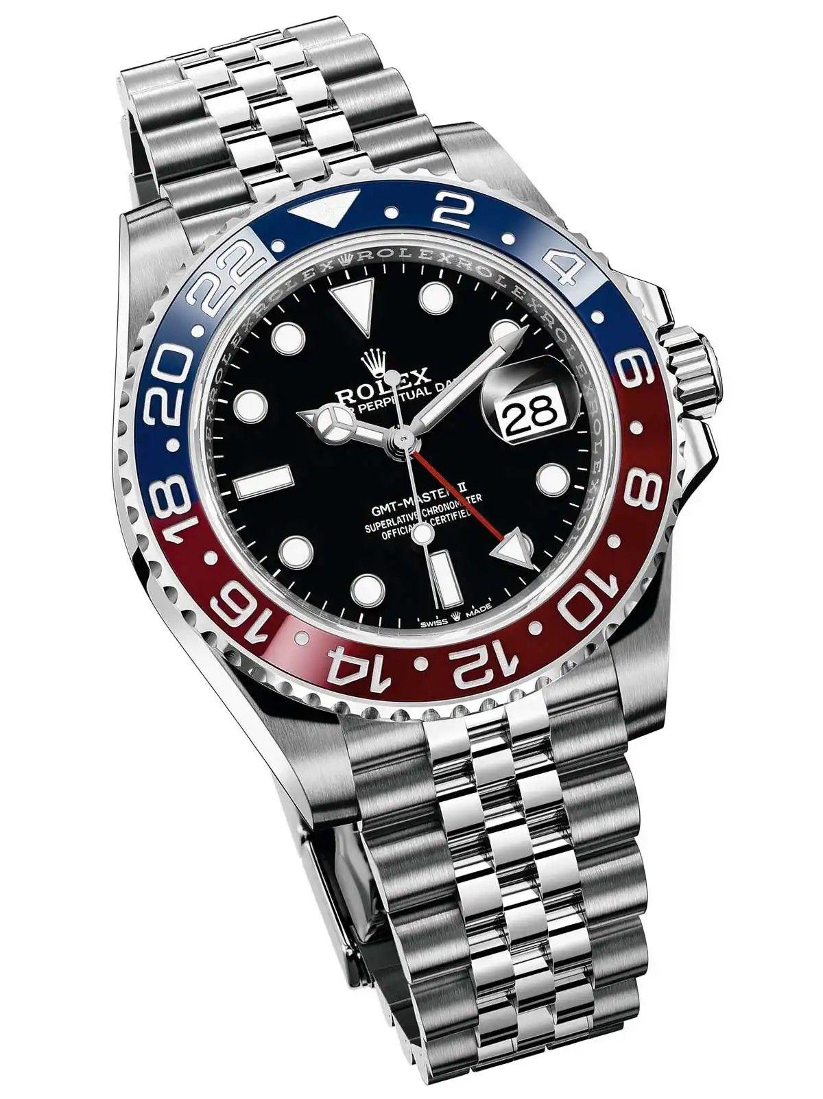 Rolex Gmt Master Ii Pepsi 126710 Blro Rolex Gmt Rolex Rolex Watches
