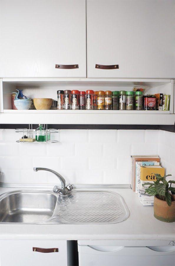 antes y despus de nuestra pequea cocina renovar la cocina sin obras decoracin
