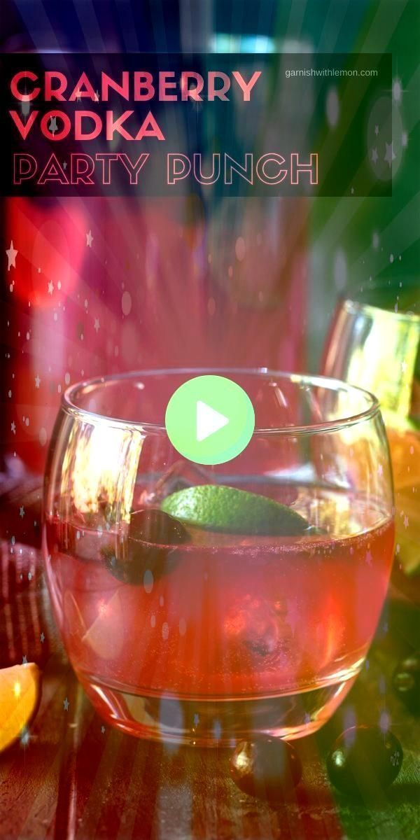 Take bartending off your todo list this holiday season and whip up a batch of this festive Cranberry Vodka Punch Its the perfect party punch recipe for all of your holida... #vodkapunch #bartending #cranberry #cocktails #holiday #festive #perfect #season #drinks #events #recipe #punch #vodka #batch #party #todoTake bartending off your to-do list this holiday season and whip up a batch of this festive Cranberry Vodka Punch. It's the perfect party punch recipe for all of your holiday events!Take #vodkapunch