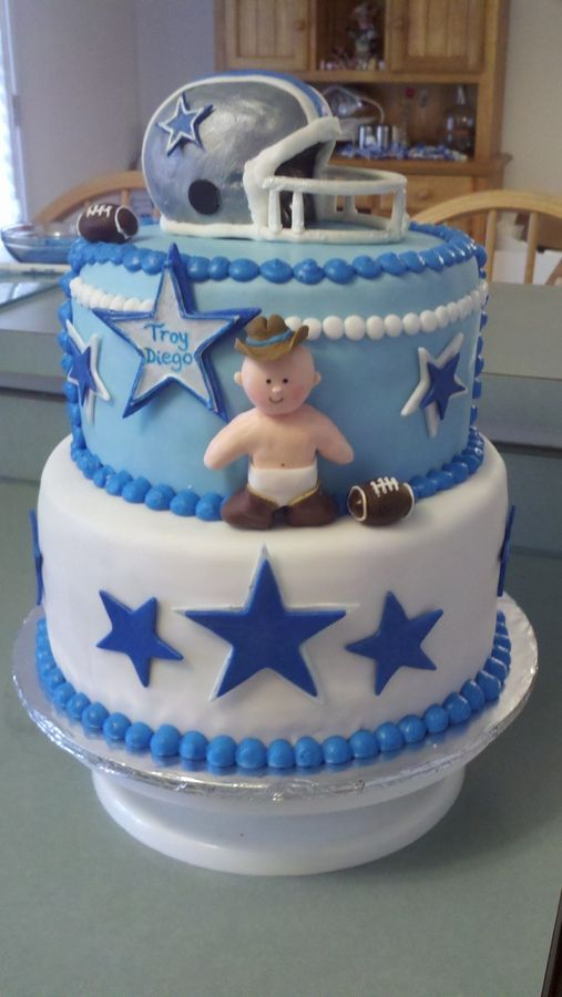 Baby Shower Cake Colts For Amie And Kev Baby Stuff