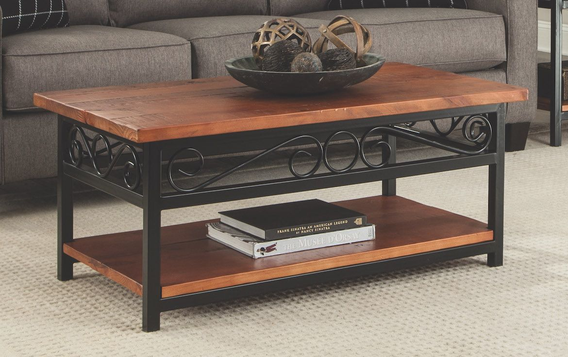 The Artesian 42 Inch Coffee Table Is A Classic Style And Will