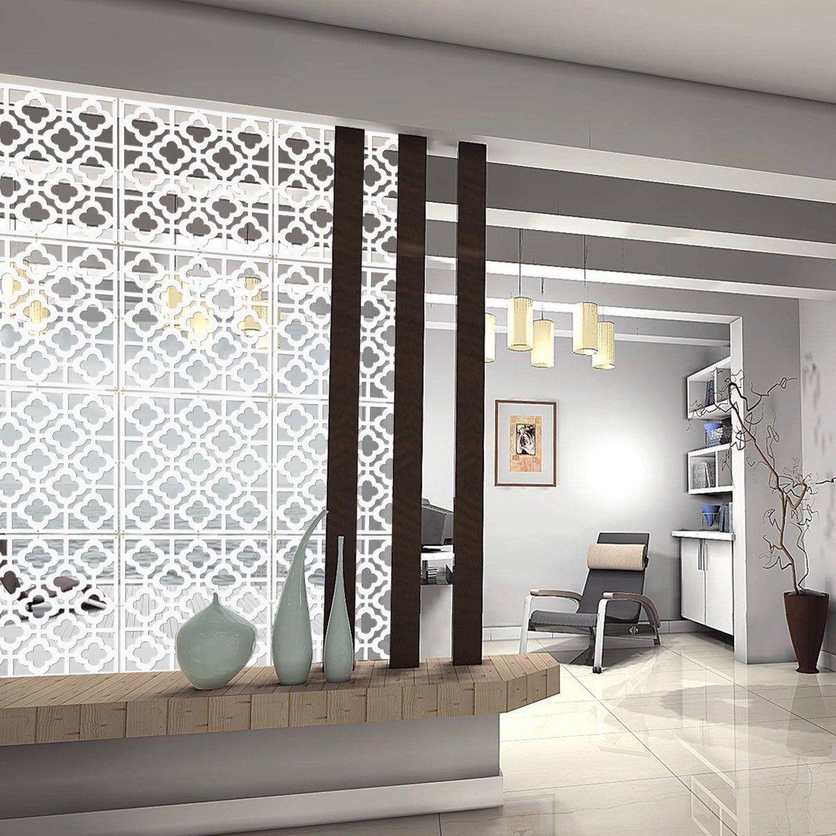 Kernorv Hanging Room Divider Decorative Screen Panels Made Of Pvc
