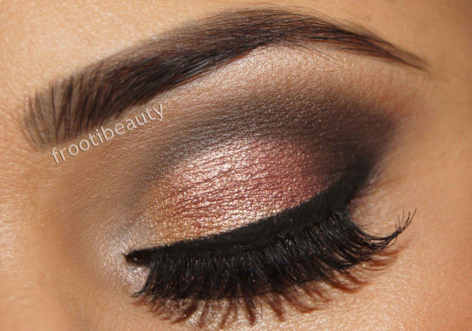 Smokey Eyeshadow Brown Eyes | Wedding Makeup For Smokey Brown Eyes ...