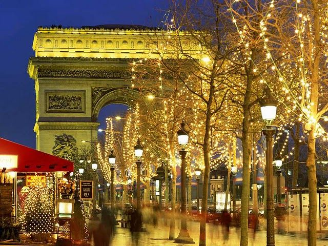 Paris France - Arc de Triomphe