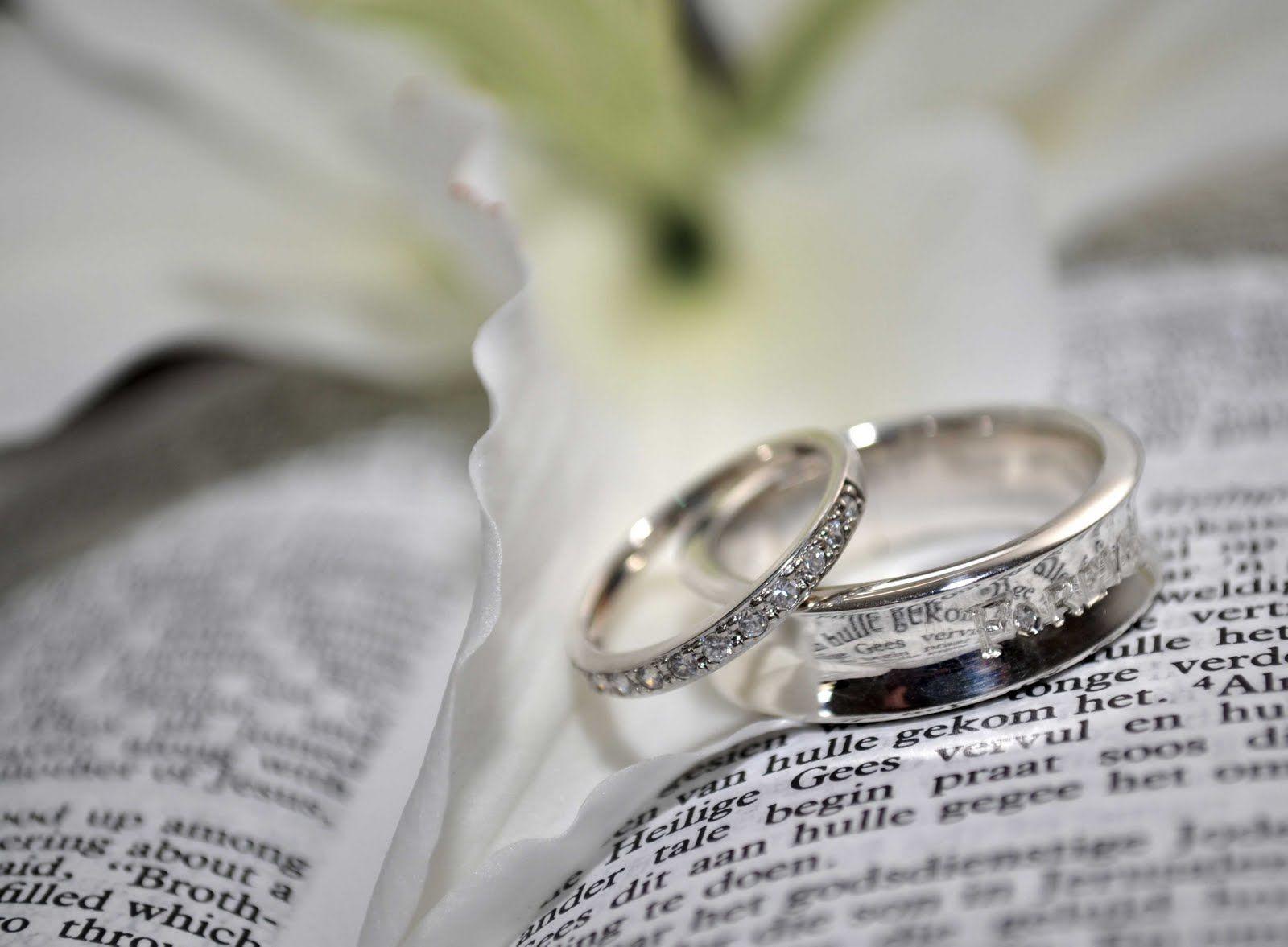 Wedding Rings On Bible Wedding Rings Photos Wedding Ring