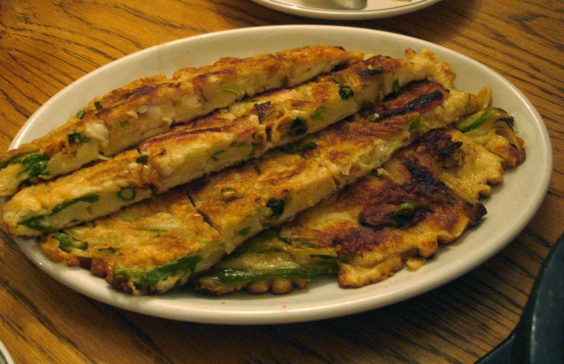 Korean Mung Bean Pancake (Bindaeddeok) ~ Singapore Food | Recipes ...