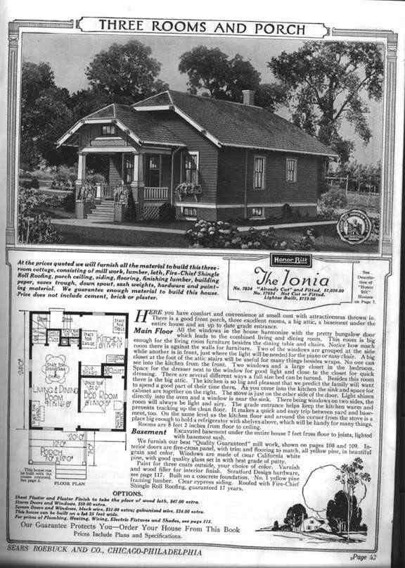 ionia floor plan bungalow house plans vintage house plans