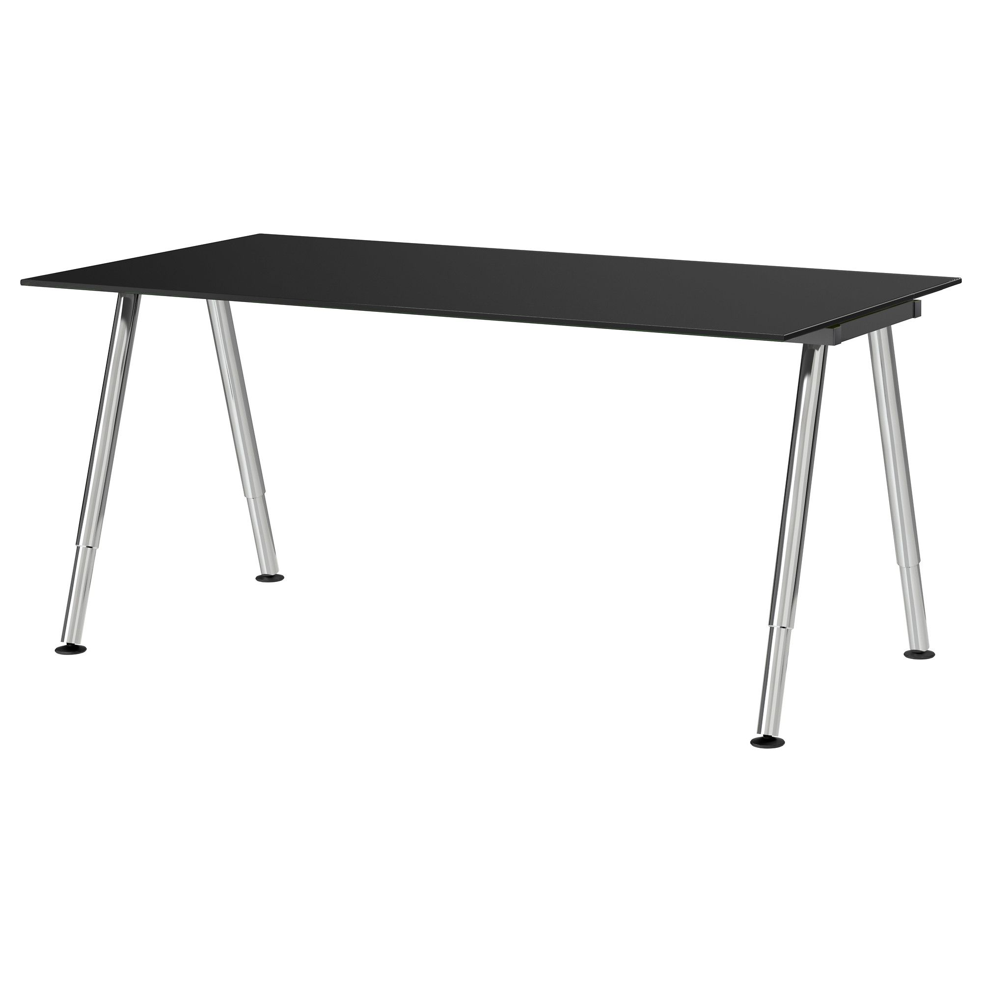 Us Furniture And Home Furnishings Apartment Design Black Glass Desk Home Furnishings