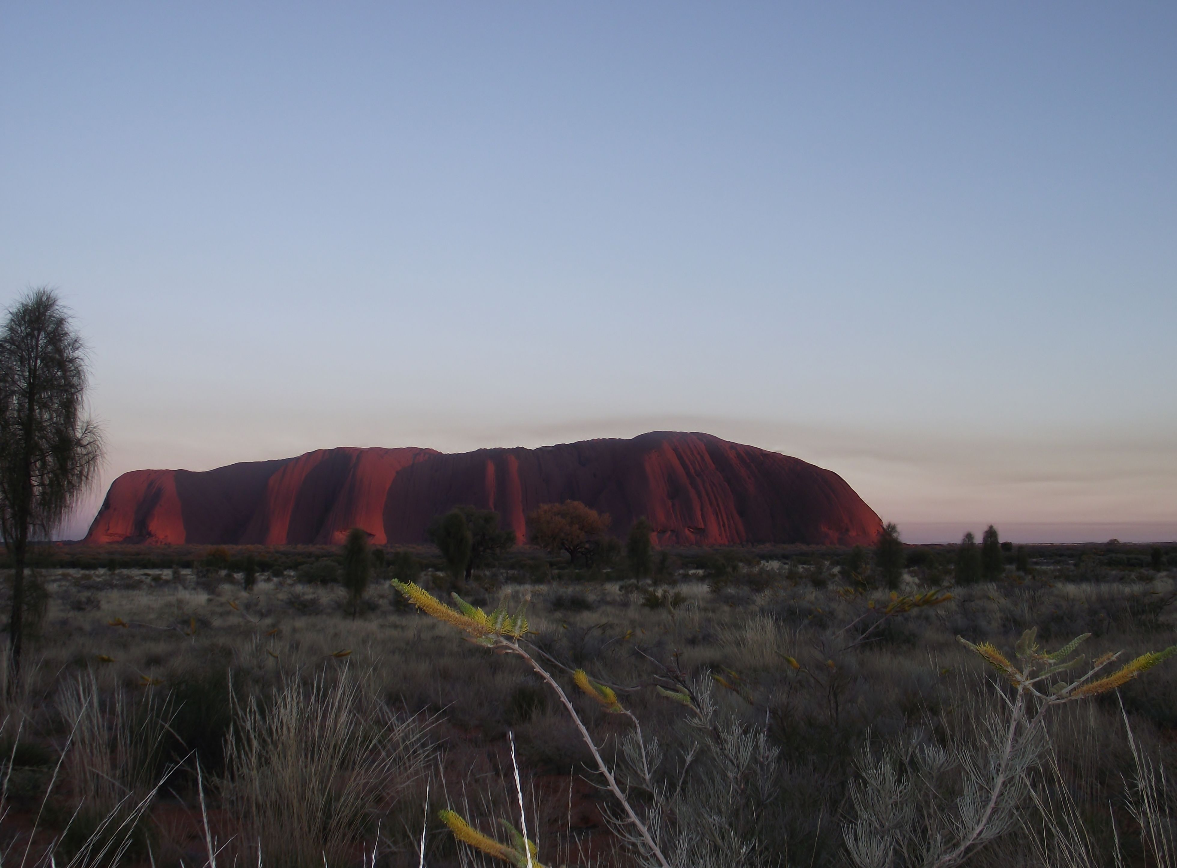 Ayers rock also known as Uluru.....it was amazing to see it in person.
