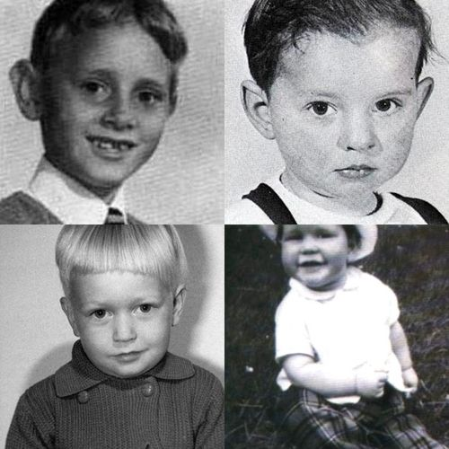 BABY Depeche Mode (Martin, Dave, Alan and Andy)
