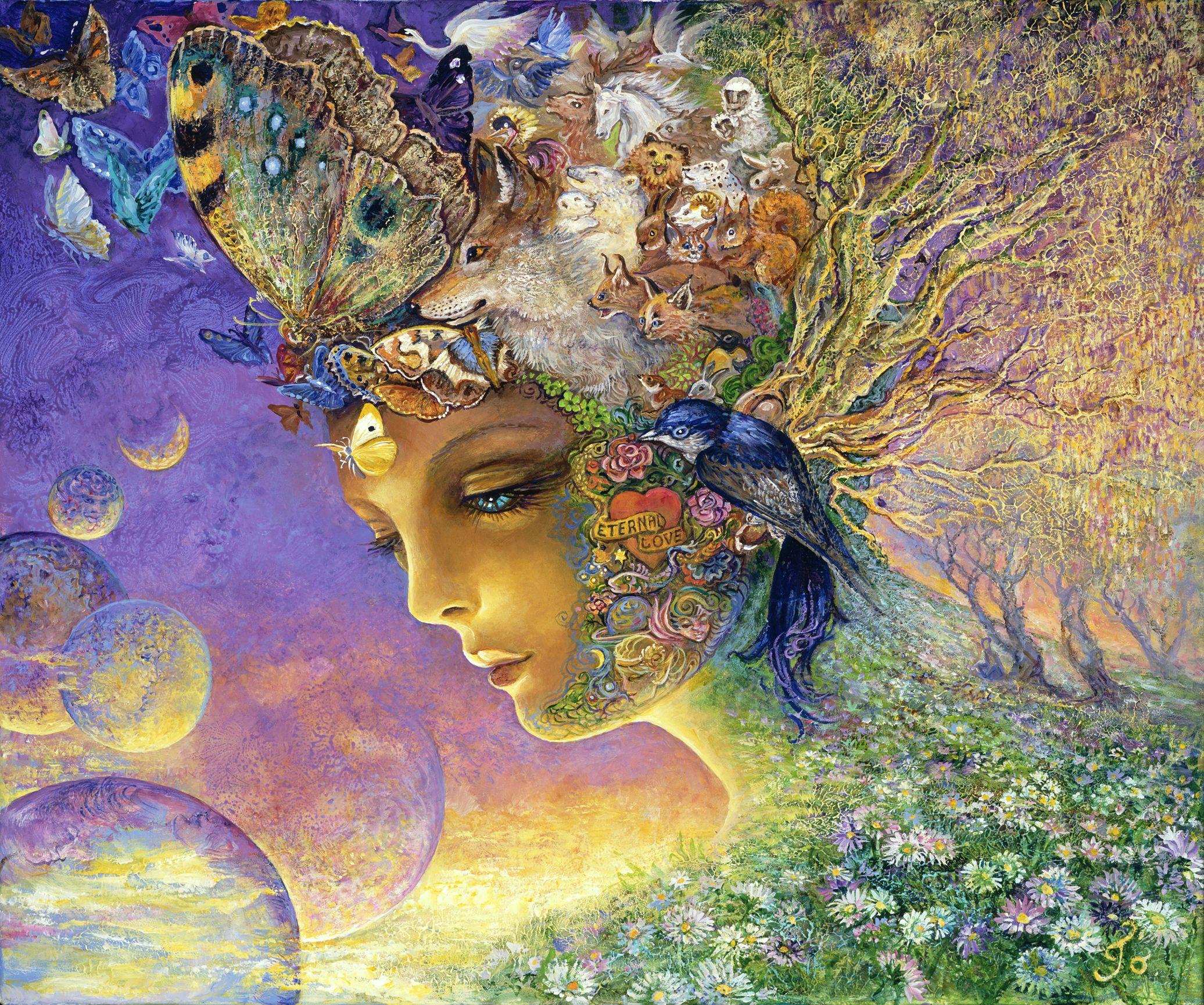 Liven Your Walls Paintings Tierra Este: Josephine Wall - Eternal Love