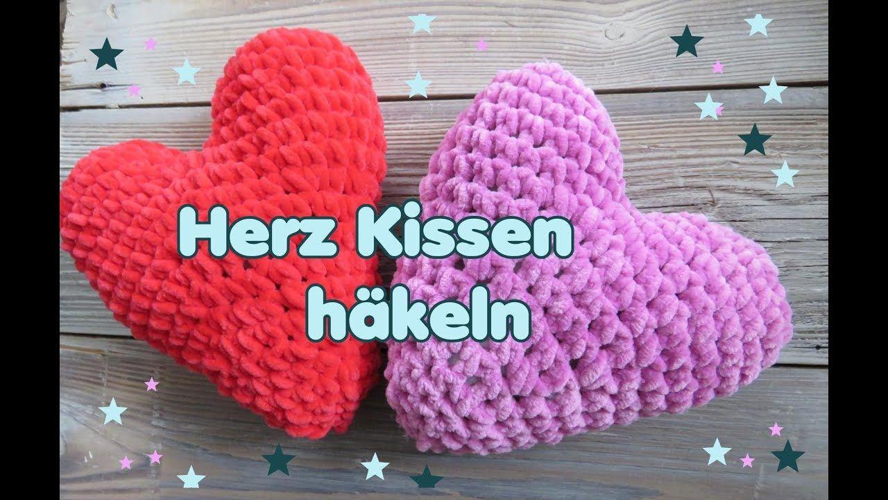 Herz Kissen Häkeln Häkelanleitung Für Anfänger Anleitungen