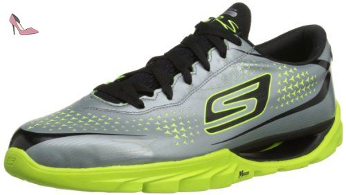 The-Go City 3, Chaussures de Running Homme, Noir (Black), 42.5 EUSkechers