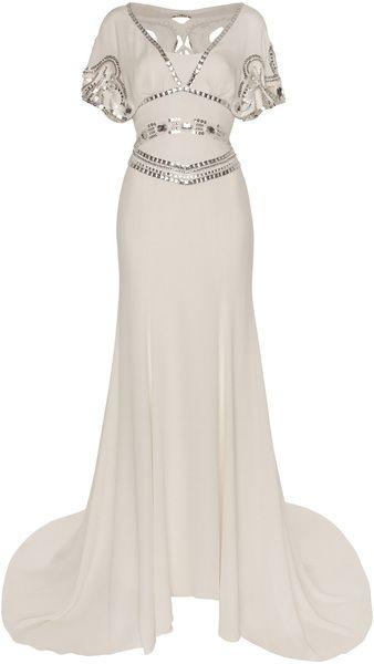 Temperley London Jean Dress Vintage inspired wedding dress #eveningwear #dresses www.finditforweddings.com