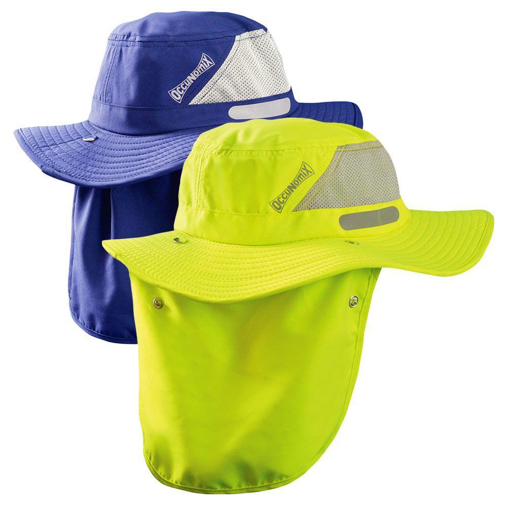 Enhanced Visibility Cooling Ranger Hat W Roll Up Neck Shade Moisture Wicking Shirt Cool Stuff Visibility