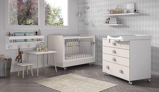 habitacion bebe, cuna , cambiador , mesa infantil | cunas y ...