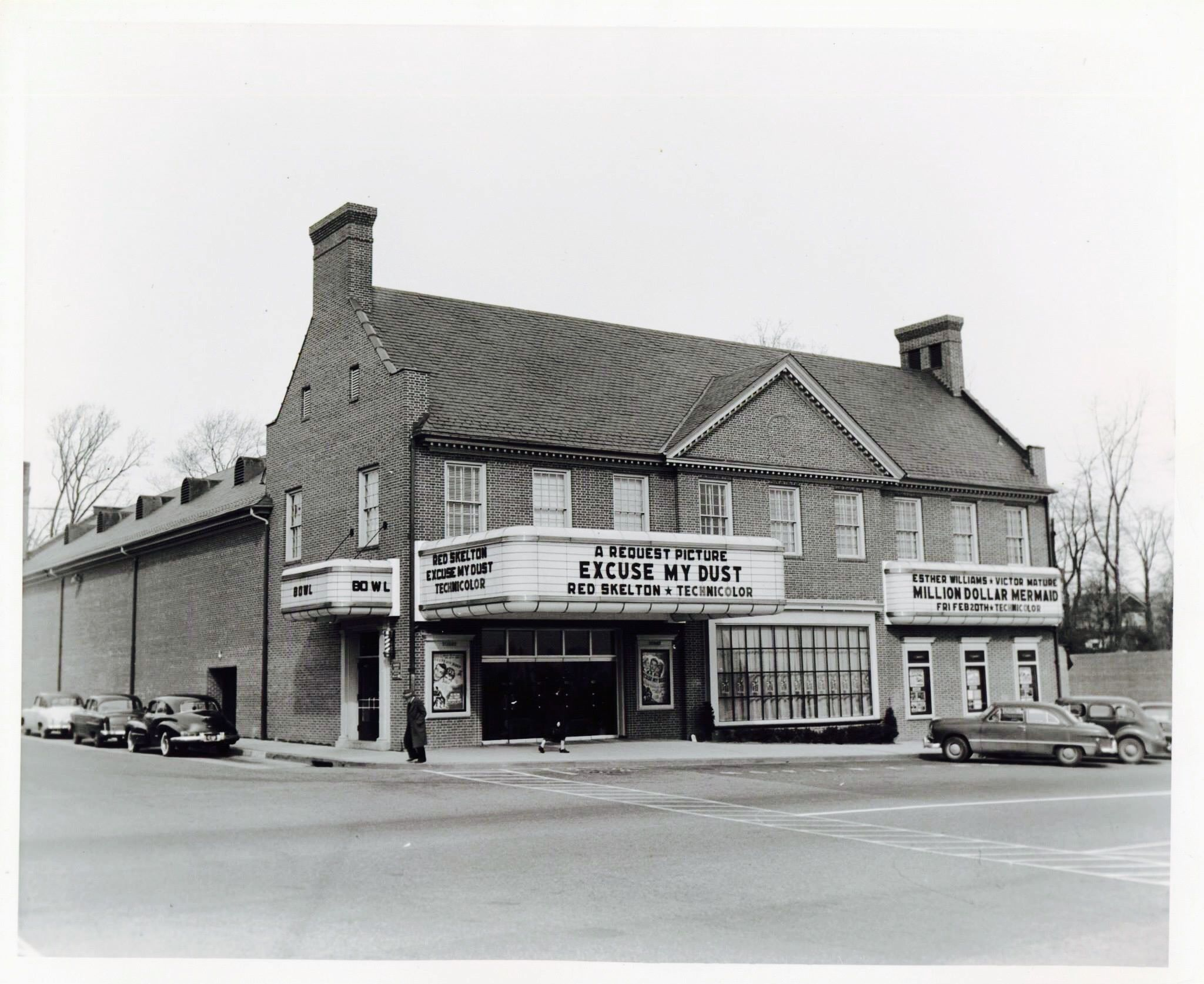 Edmondson Village Movie Theater Historic Baltimore Baltimore