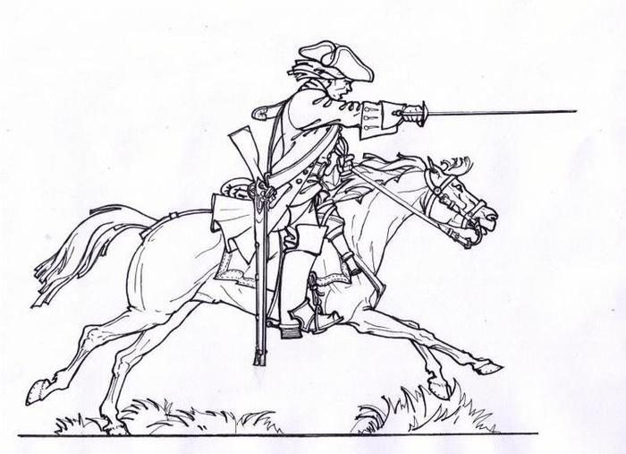 полтавская битва картинки напечатать