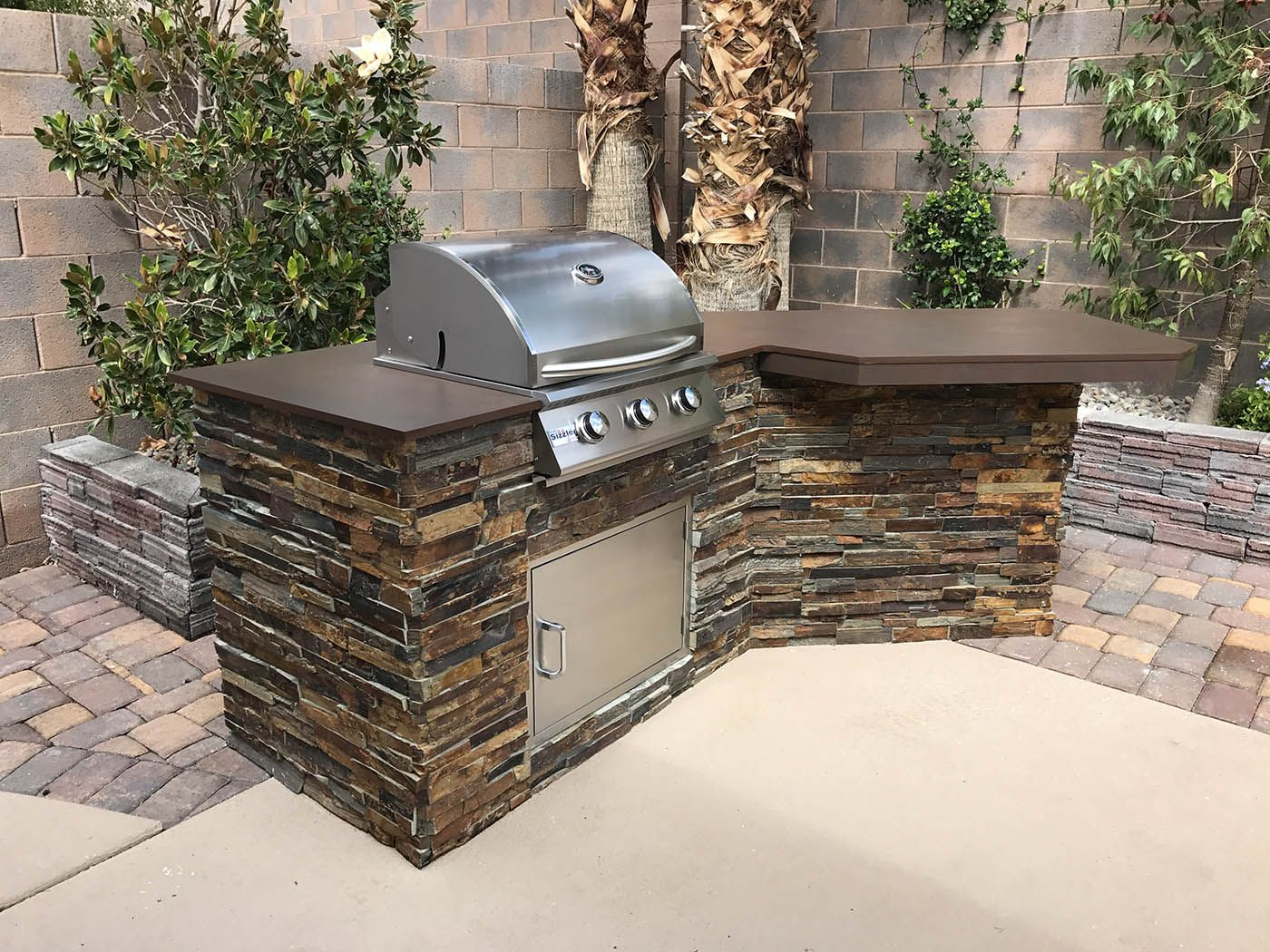 Custom Outdoor Kitchen Creations by BBQ Concepts of Las ...