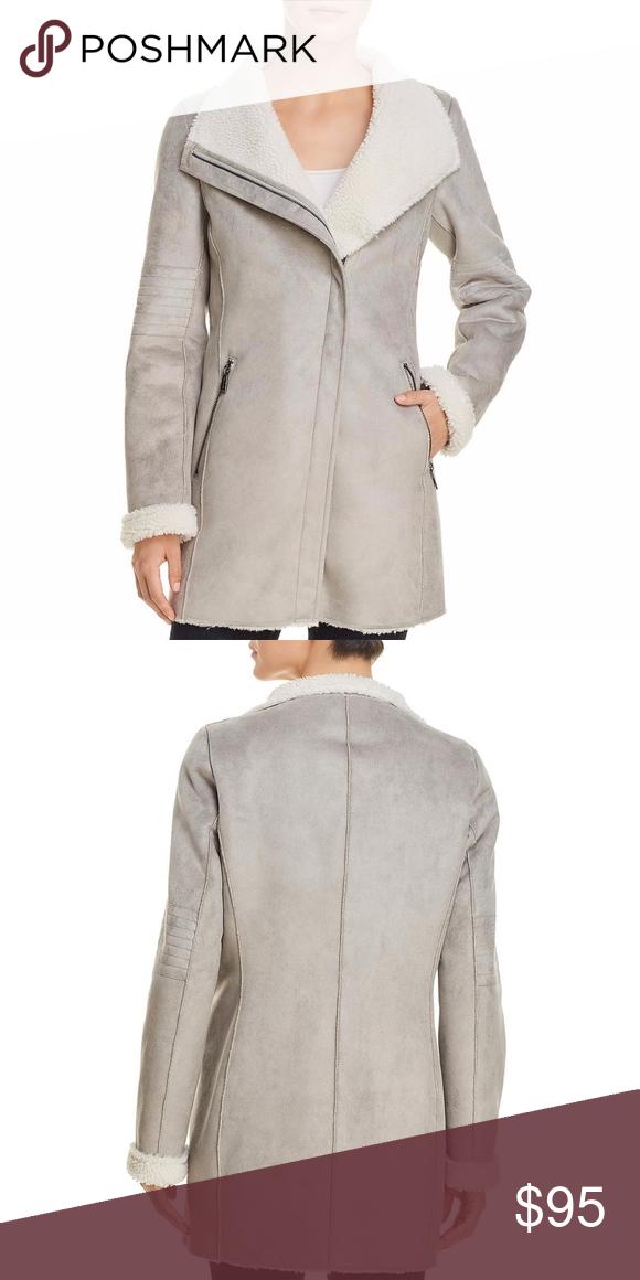 5100987d4cf Calvin Klein Womens Gray Winter Faux Suede M Manufacturer  Calvin Klein  Retail   229.00 Style