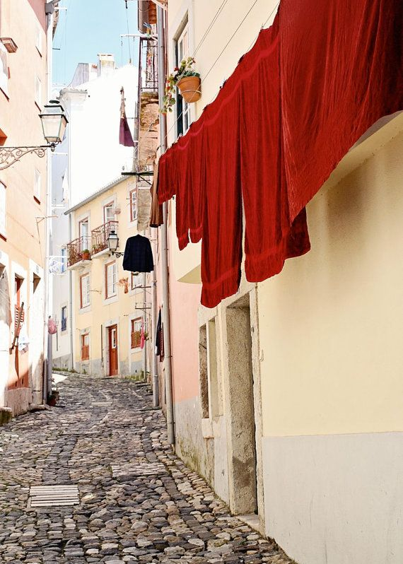 Red Lisbon, Portugal