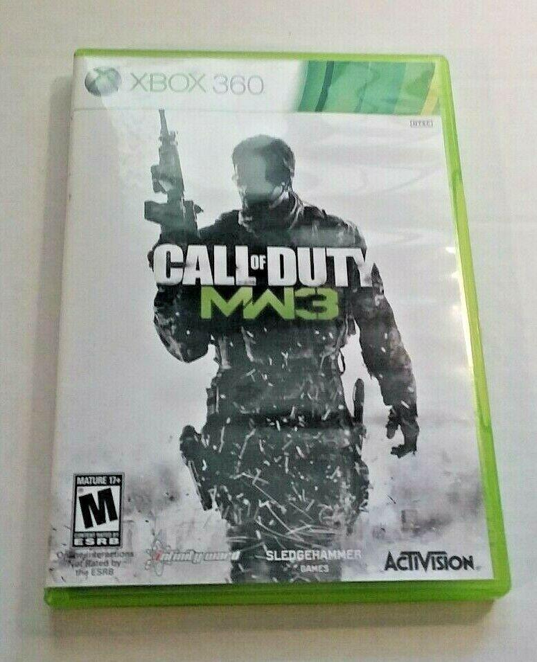 Call Of Duty Modern Warfare 3 Microsoft Xbox 360 Activision 2011 W Manual Ideas Of Call Of Duty Callofduty In 2020 Call Of Duty Activision Modern Warfare