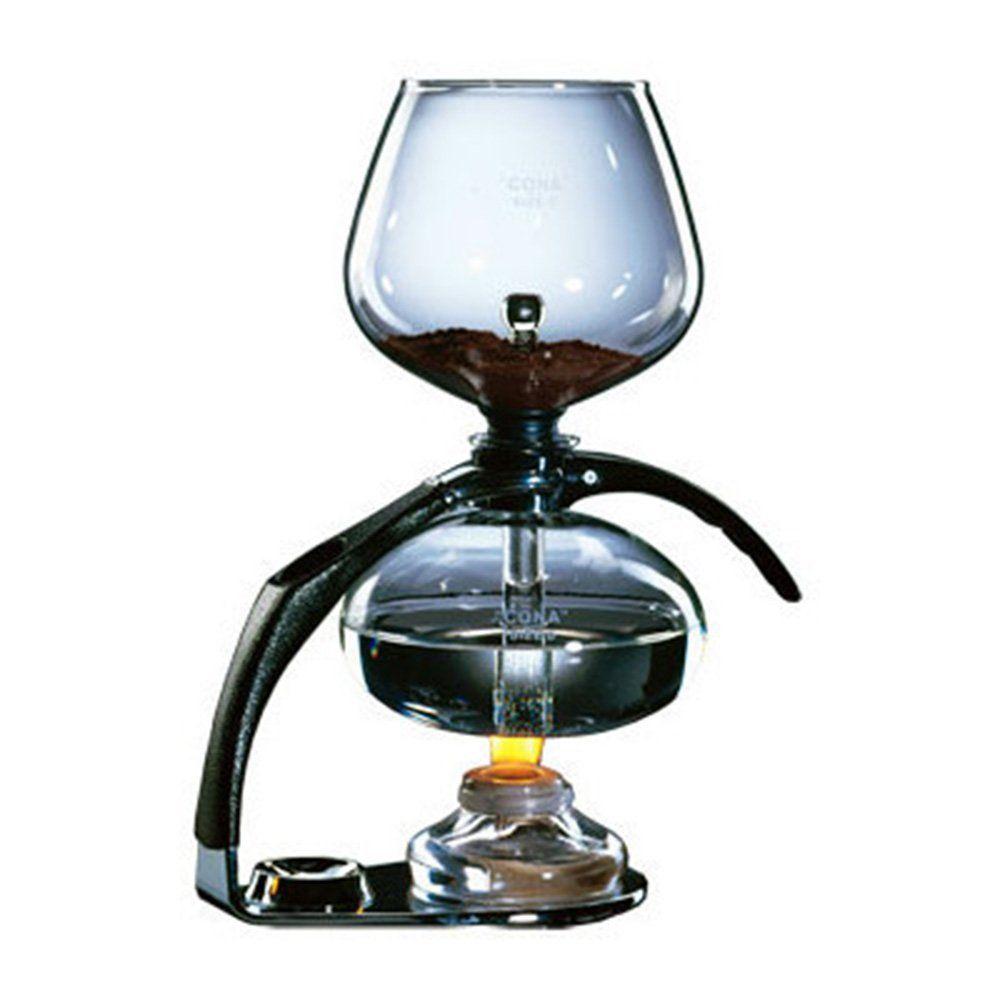 Cona coffee maker size c chrome vacuum