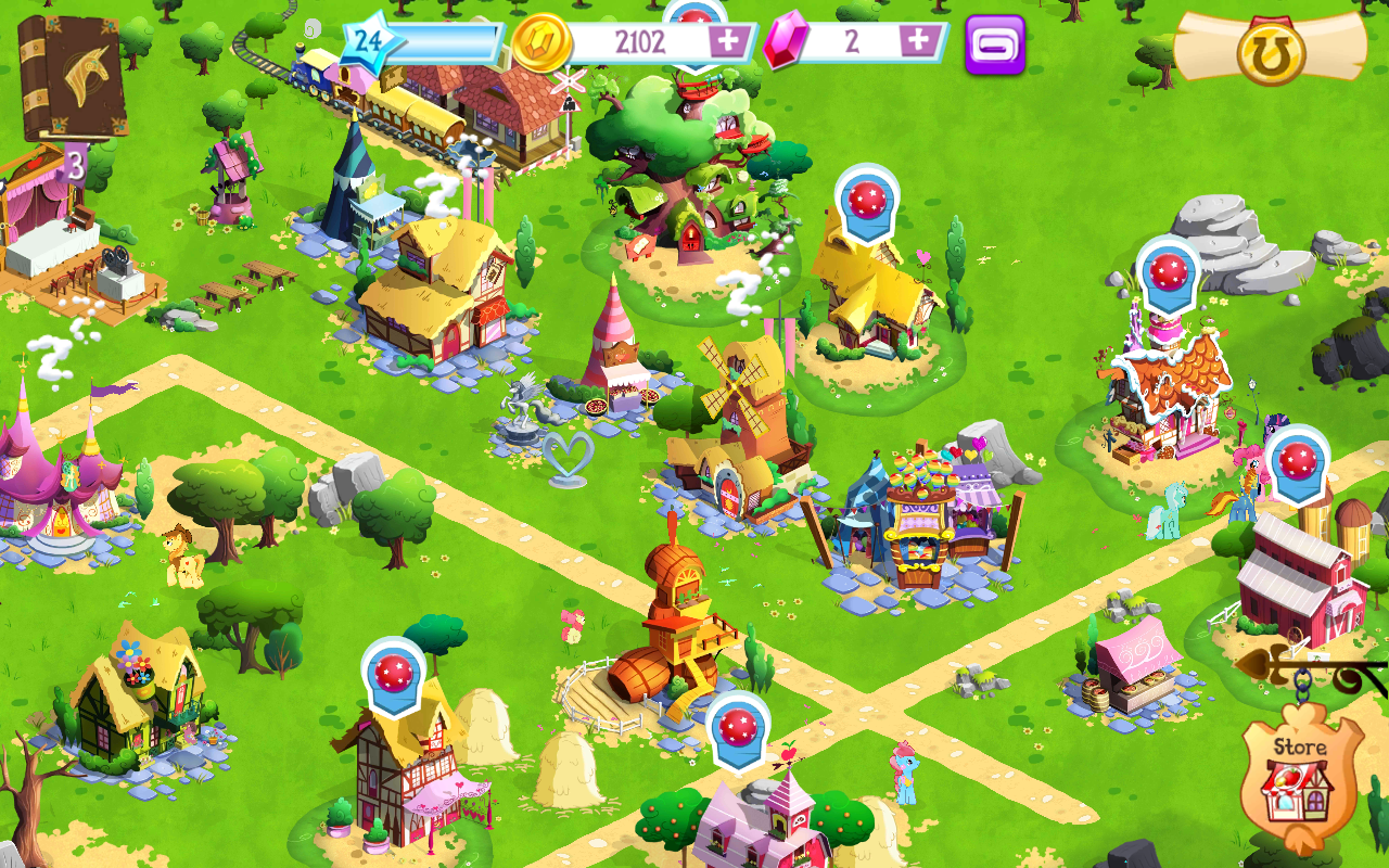 my little pony app game Jeux, Jeux video, Video