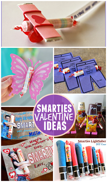 Toddler Classroom Valentine Ideas ~ Valentine ideas for kids using smarties classroom candy