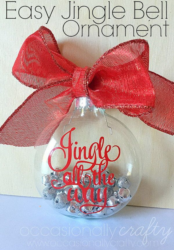 Christmas Bell Decoration Ideas Fair 30 Diy Ornament Ideas & Tutorials For Christmas  Jingle Bells Design Inspiration