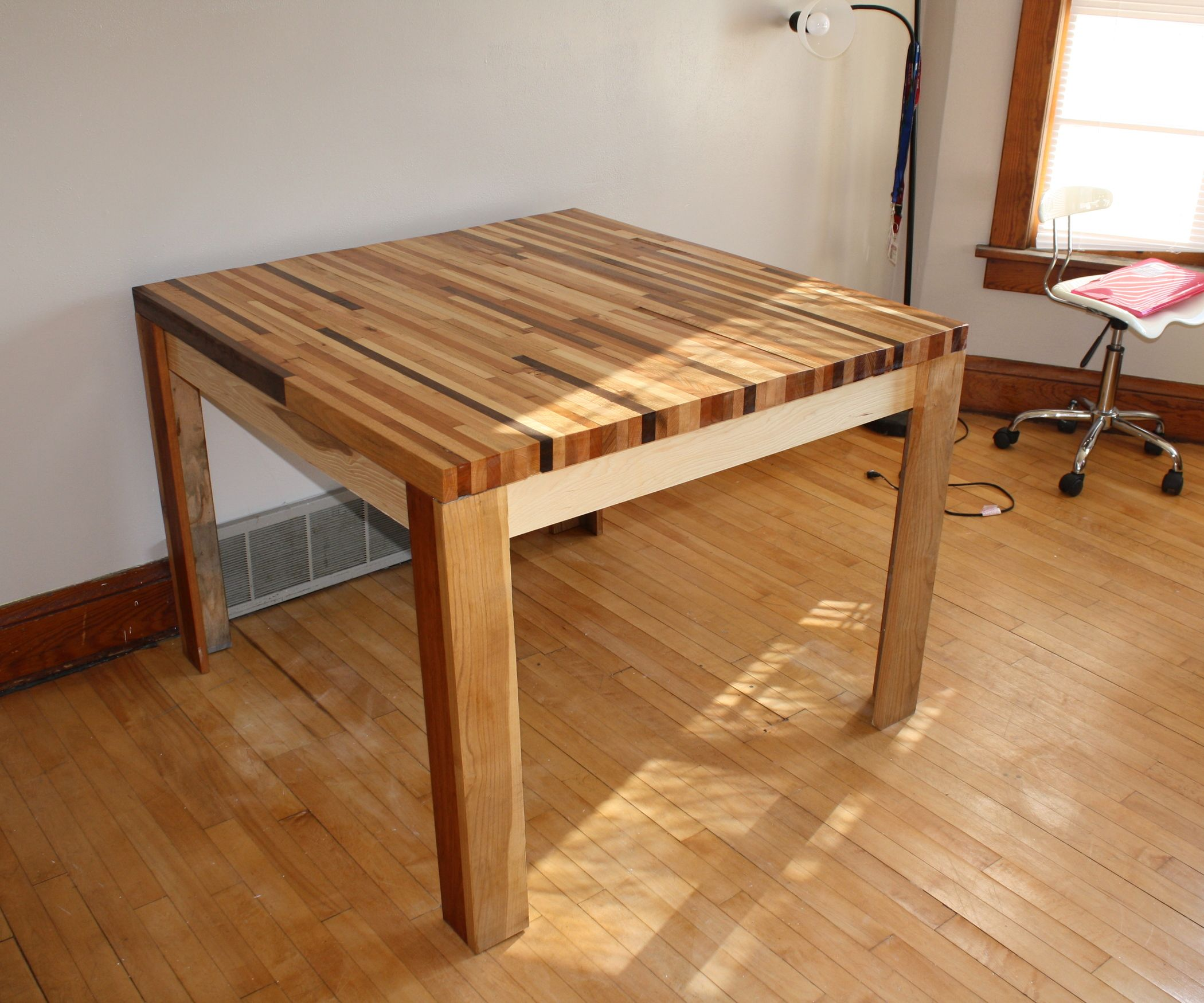 Butcher Block Kitchen Tables And Chairs: Butcher Block Dining Table
