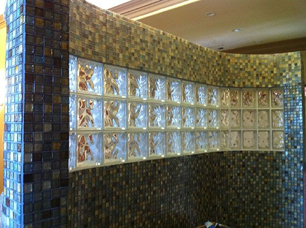 Glass Block And Tile Showers In Houston Texas Doorless