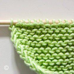 comment faire une maille lisiere au tricot