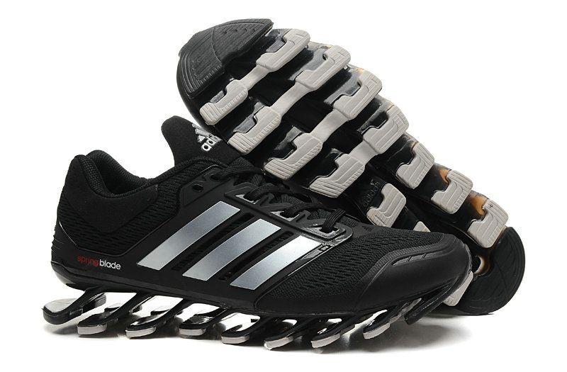 Adidas Springblade Drive Shoes Black Silver  c3edc0e546