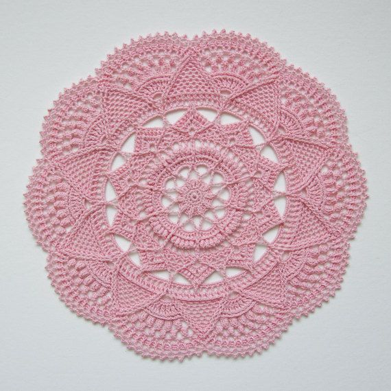 Crochet Doily Pattern Taala Instant Download Pinterest Crochet