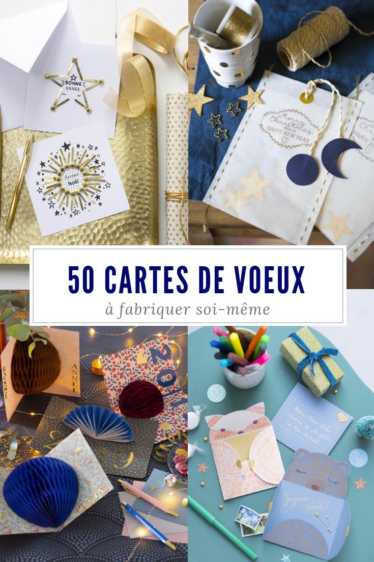50 idées de cartes de voeux à faire soi-même   NOËL   CHRISTMAS ... 825d4efede0