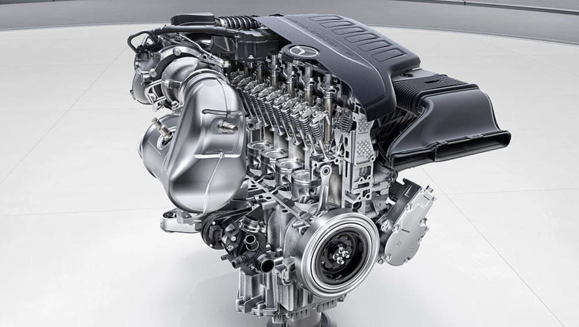 Mercedes-Benz has announced the rest of the line-up of the engine family, which comprises of four new engines.