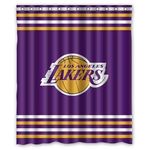 Los Angeles Lakers Shower Curtain Los Angeles Lakers Lakers