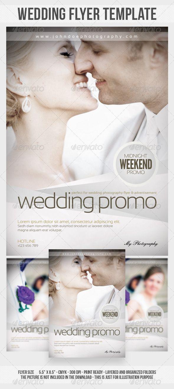 Wedding Photography Flyer Template – Wedding Flyer