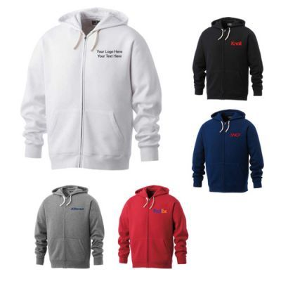 72f8a416d Personalized Men's Huron Fleece Full Zip Hoodies. Now Available Colors:  Black, Heather Charcoal, Team Red, Vintage Navy, White Product Size: S, M,  L, XL, ...