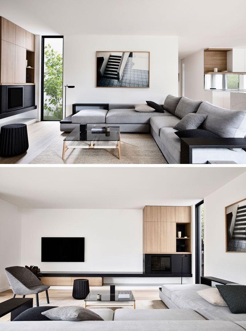 The Interiors Of This Modern House Has Plenty Of Natural Light That Illumi Interior Design Living Room Living Room Scandinavian Scandinavian Design Living Room