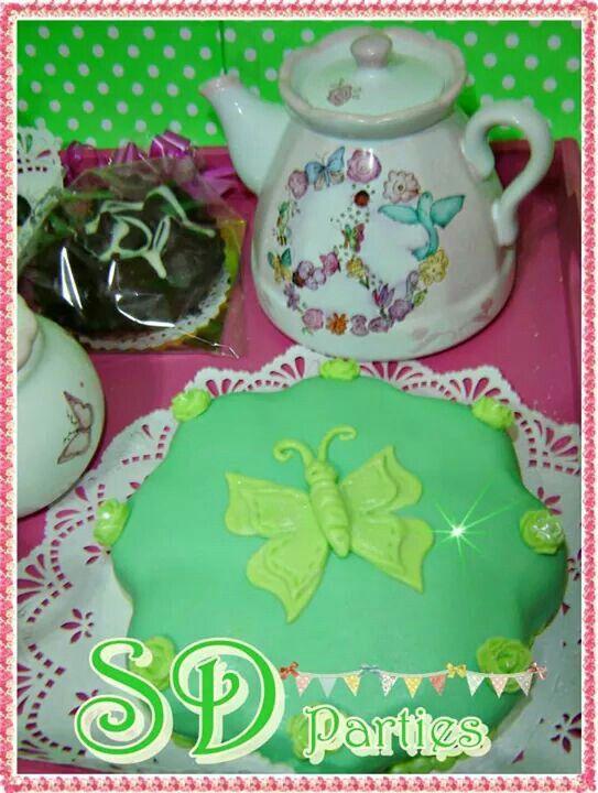 Minintorta para desayuno chic realizado para Claudia!!!